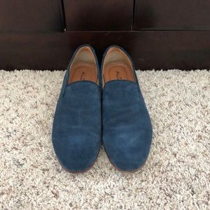 Men's Aldo Blue Suede Loafer